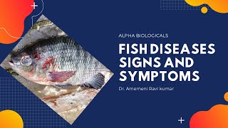 Fish diseases (Signs and Symptoms) (Telugu)