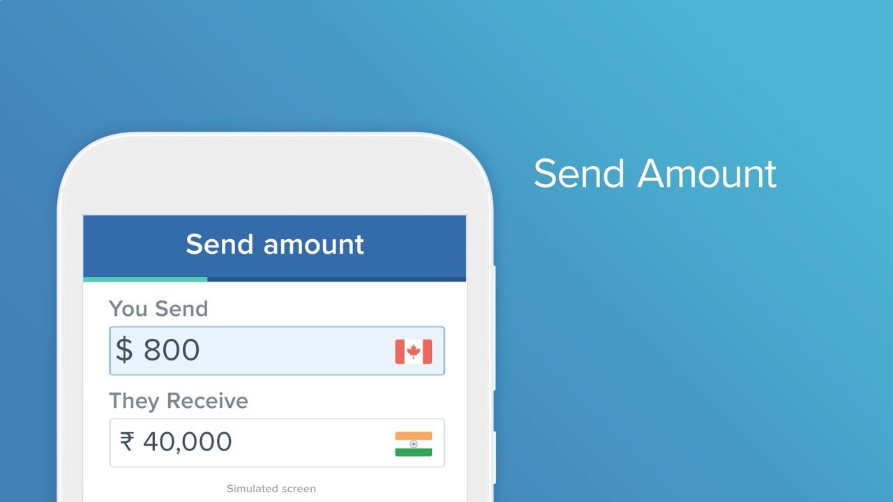 Send Or Transfer Money Online To India