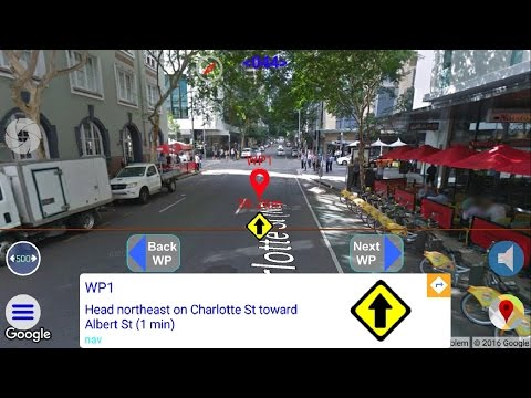 Turn-By-Turn Directions / Augmented Navigation