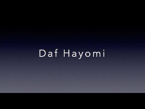 Daf Hayomi Shabbat 98