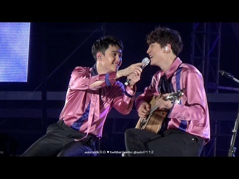 170527 Acoustic Version (D.O. 디오/경수 Focus With Chanyeol) @ The EXO'rDIUM[DOT] In Seoul