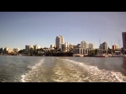 Views of Brisbane from the Brisbane River CityHopper, Queensland, Australia - 3rd September, 2015