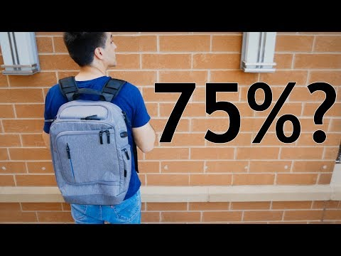 Targus CityLite Pro Backpack Review: 75% Great?