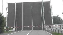 Bewegliche Brücke in Friesland