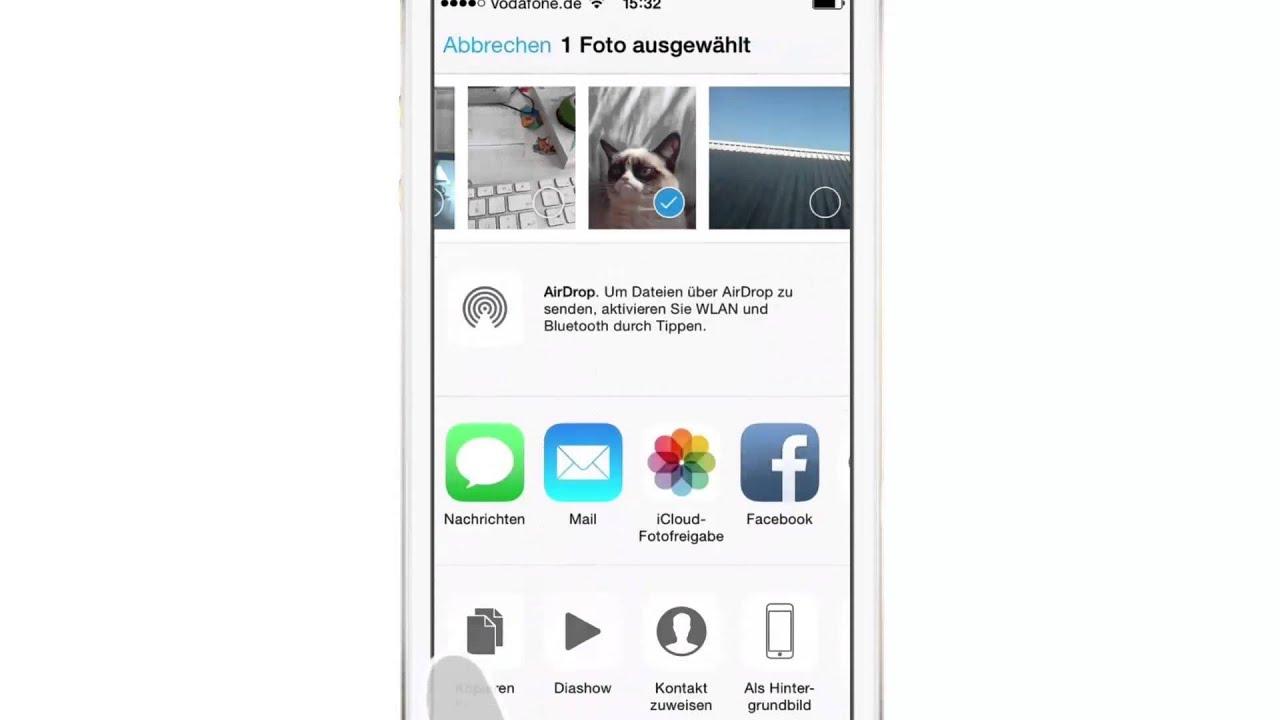 iPhone iPad Anleitung: Reihenfolge der Apps im Teilen-Menü ändern - YouTube