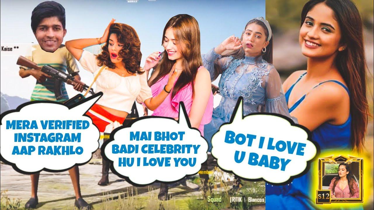 Download 💕😍Random Very Famous Tiktoker girl & boys call Me Noob And I Challenge For 1v3 TDM | PUBG RANDOMS