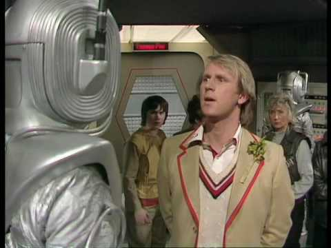 Doctor Who-Earthshock 'Emotions' scene