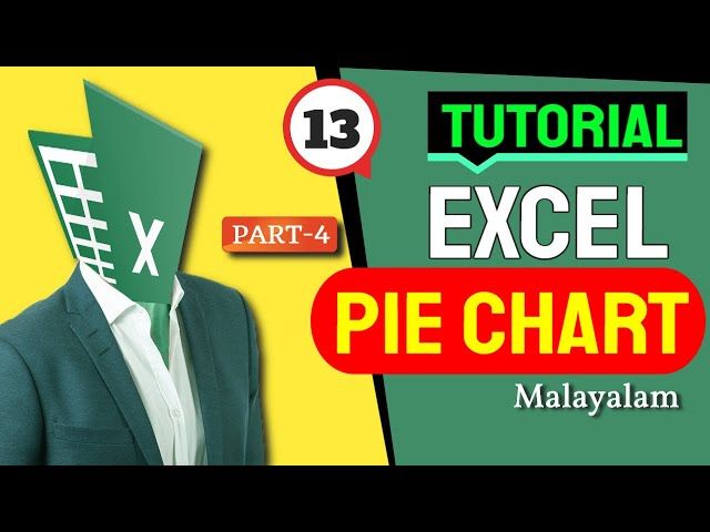 How to create Excel Pie Chart in MS Office 365 in Malayalam