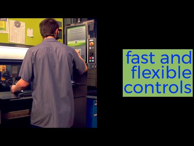 We just got a major #Fabrication upgrade: New CNC Press Brake!