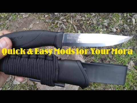 Quick & Easy Mods for Your Mora