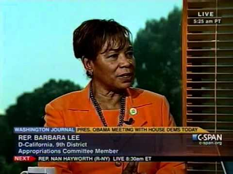 Rep. Barbara Lee Talks About Drastic GOP Cuts and Afghanistan on C-SPAN (Pt. 4)