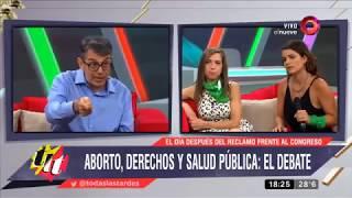 Polémico e injusto debate sobre el aborto en Argentina, todos contra Gabriel Ballerini