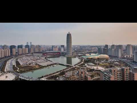 《Hello,  ZHENGZHOU 》 ----YaoKing 延时航拍作品