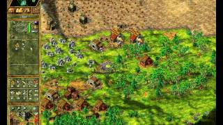 [Premiere] Die Siedler IV - Online Multiplayer Match 2on3 + Abschluss Statistik (The Settlers 4)