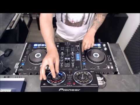 Techno Mix with PIONEER XDJ-RX and RMX-500