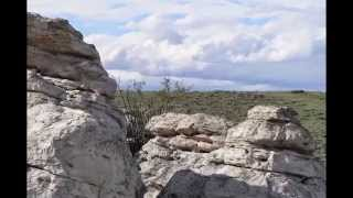 Wandering Out West through the sagebrush and outcrops