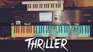 Michael Jackson's Thriller Keyboard Tutorial / Deconstruction