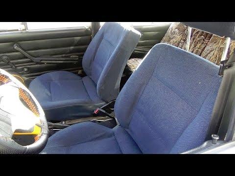 Передние сидения от Ауди 80 в ВАЗ классику/Front seats from Audi 80 in VAZ classic
