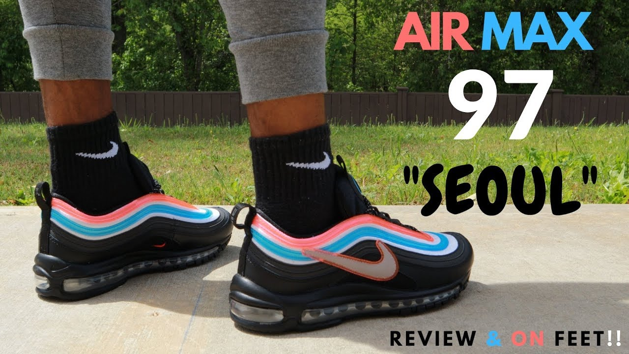 AIR MAX 97 SEOUL ON-AIR REVIEW \u0026 ON