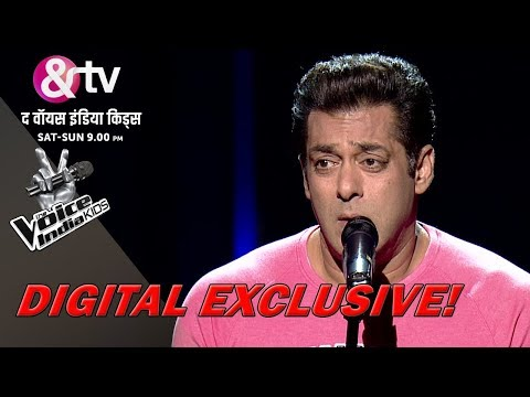 Salman Khan's Audition For The Voice India Kids - Season 2 | Sneak Peek