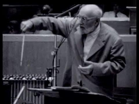 Ernest Ansermet répète avec l'OSR (1963)