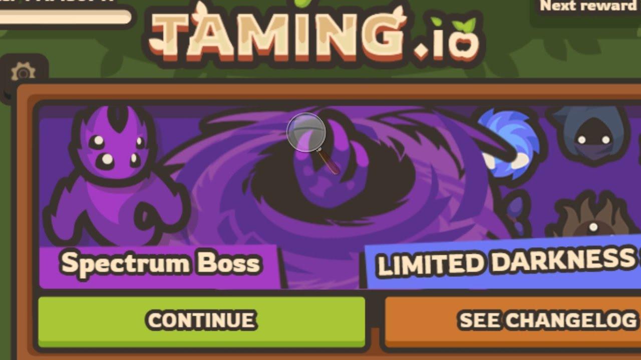 Download NEW Spectrum BOSS Update In Taming.io (Taming.io Update V0.32) #TamingIo #ProRaids #NewUpdate