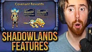 Asmongold Discusses WoW Shadowlands: What's Next Panel (Features, Zones, Raids) - Blizzcon 2019