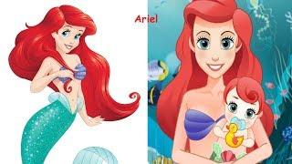 Disney Princesses Reimagined As PARENTS    Disney Princess In Real Life