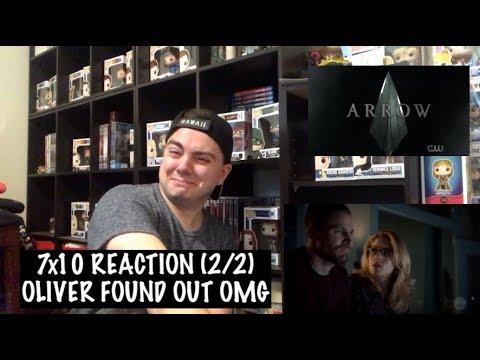 ARROW - 7x10 'MY NAME IS EMIKO QUEEN' REACTION (2/2)