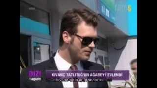 Cem Tatlıtuğ's Wedding ( Dizi Magazin Report ) - April 26, 2013
