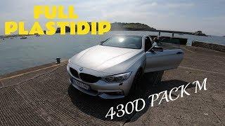 BMW 430D PACK M 265hp, PLASTIDIP SUR LE MAZOUTE !