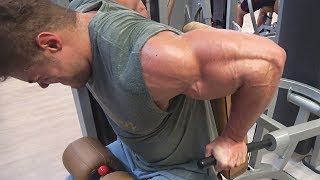2.5 WEEKS OUT - Chest MASS Workout - Day of Eating Low Carb