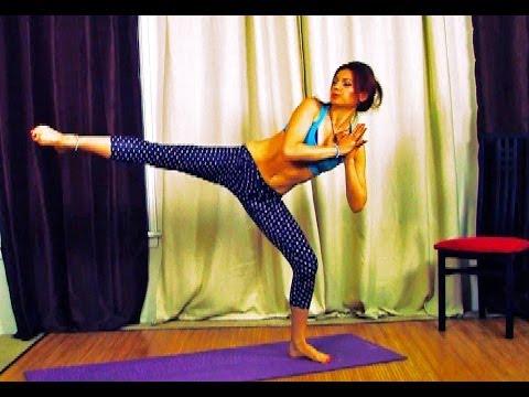 AK77 HIP Strength Power Yoga Class Legs Full Body Intermediate Handstand Squat