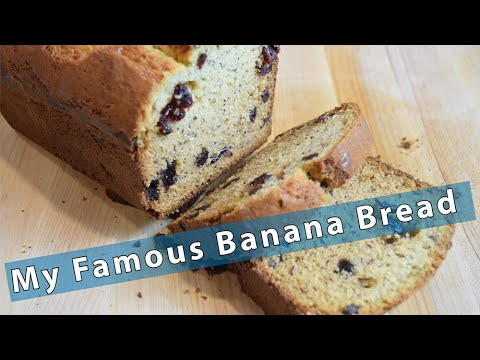 Banana Bread - My Secret Recipe