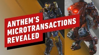 Anthem's Microtransactions: Everything You Need to Know