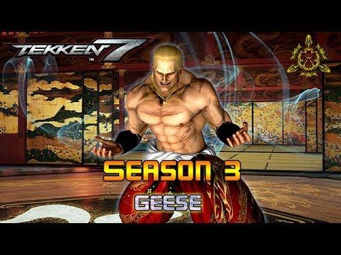 Tekken 7 Season 3 - Geese Changes