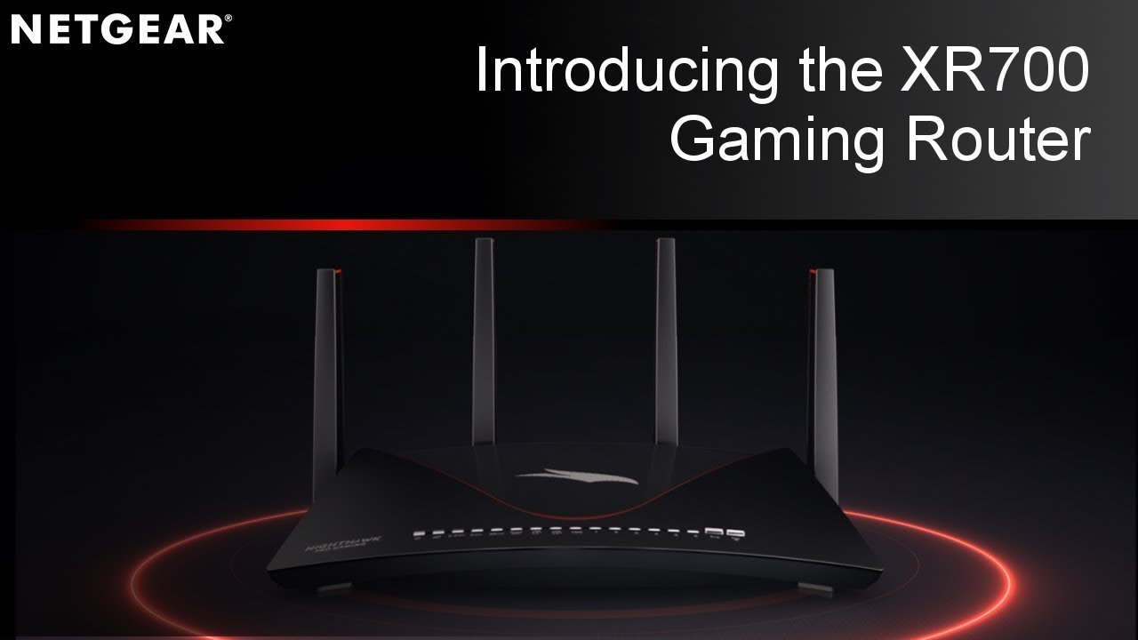 The most powerful gaming router on the market, the    - NETGEAR
