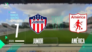 Superliga 2020 EN VIVO Junior Vs América ⚽