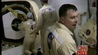 CNN News - Shuttle Launches with John Glenn (Oct 1998)