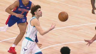 LaMelo Ball 23 Pts Crazy Passes vs Pistons! 2020-21 NBA Season
