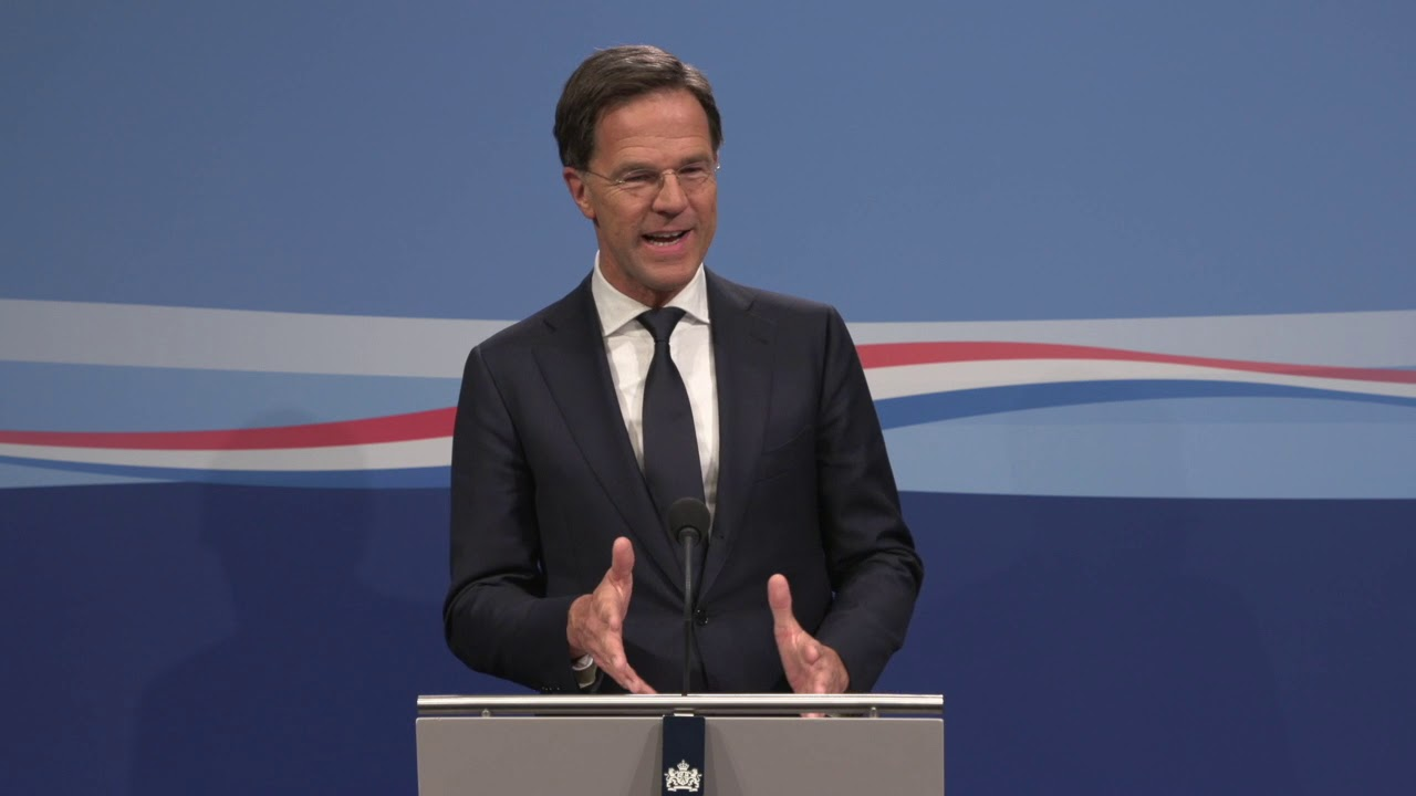 Integrale Persconferentie Van MP Rutte Van 12 April 2019