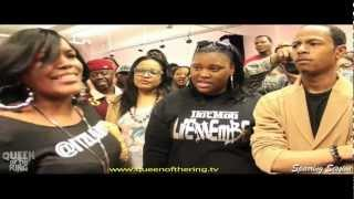 "BABS BUNNY & VAGUE QOTR ""SPARRING SESSION"" LADY E -vs- FRANK WHITE"