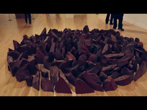 Richard Long - Red Slate Circle - Tate Britain - London - September 2016