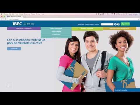 IBEC: Portal de Alumnos