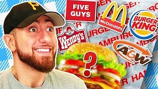 Which BURGER Chain Makes The Best Custom Hamburger?!