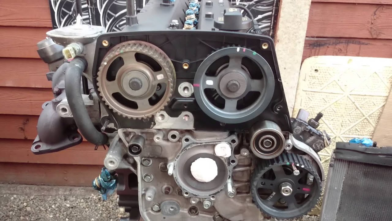 Kia Sedona Carnival 2006 2010 2 9crdi J3 Engine Ou Youtube