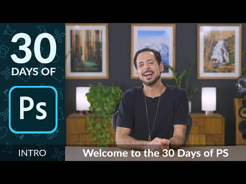 Welcome To 30 Days Of Photoshop!