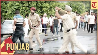 Police use water cannons, lathi-charge protesting teachers in Sangrur