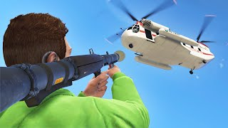 IMPOSSIBLE CARGOBOB CHALLENGE! (GTA 5 Funny Moments)