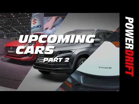 Upcoming Cars of 2017 : Part 2 : PowerDrift